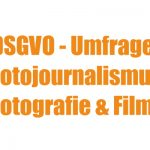 DJV befragt Foto- und Filmbranche zur DSGVO